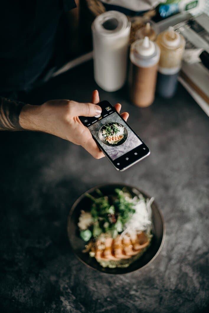 Instagram food post